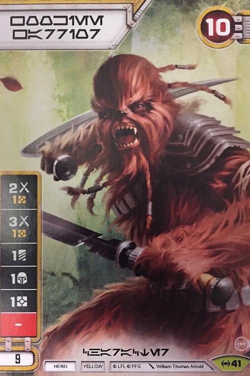 Wookie Warrior - EaW Prerelease Promo