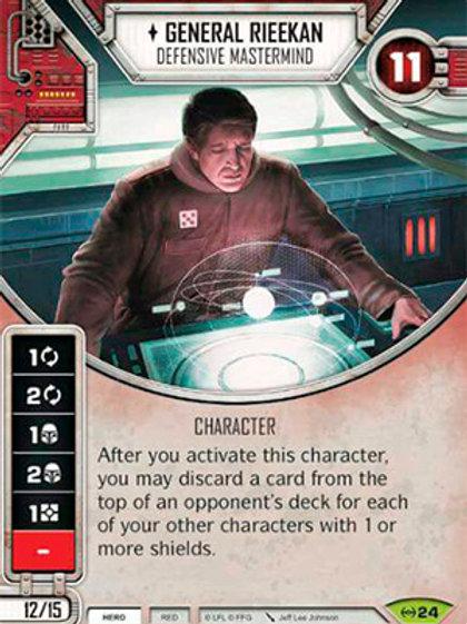 General Rieekan - Defensive Mastermind