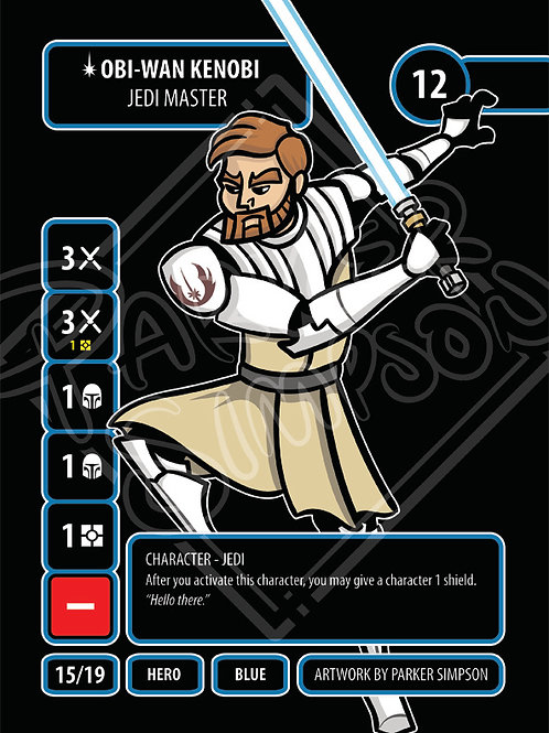 Obi-Wan Kneobi - Jedi Master