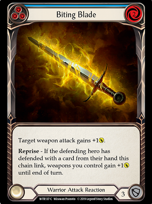 Biting Blade (Blue)