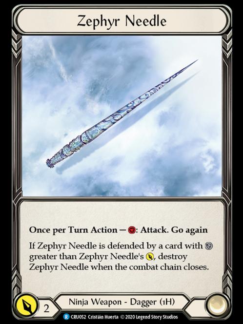 Zephyr Needle (Right)