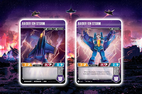 Raider Ion Storm