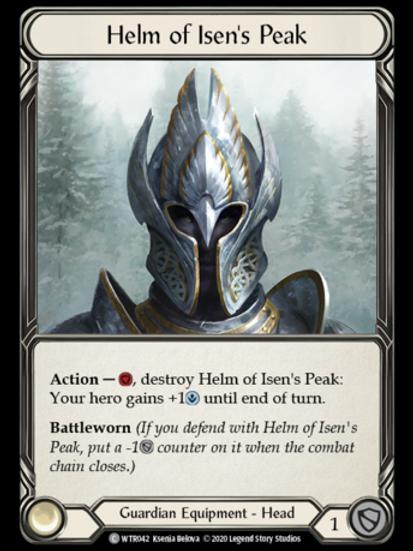 Helm of Isen's Peak - WTR Unlimited
