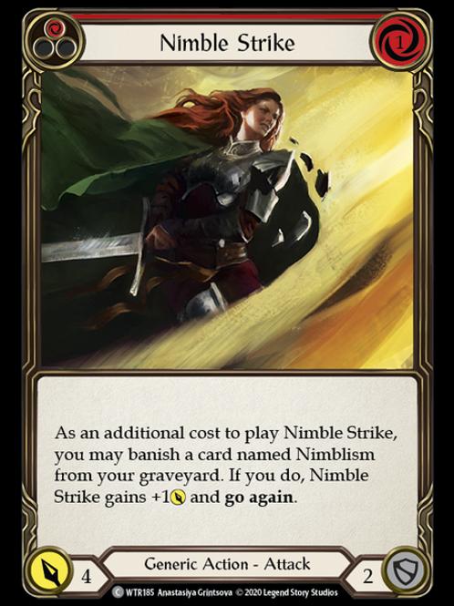Nimble Strike (Red) WTR Unlimited