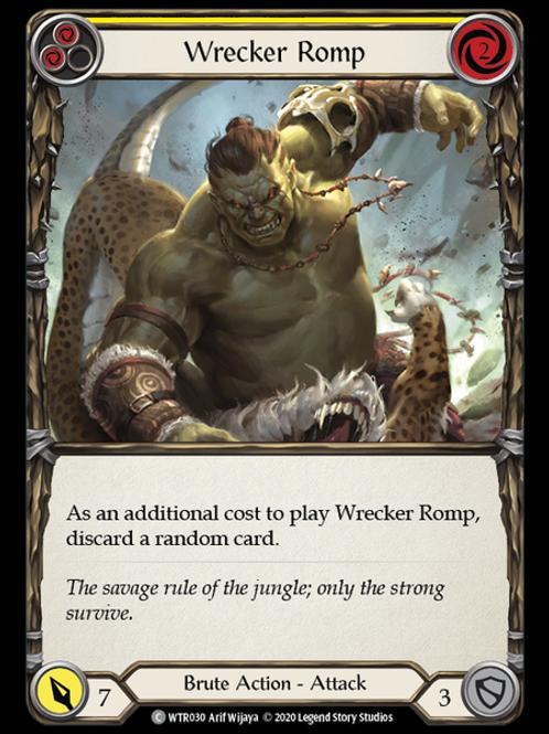 Wrecker Romp (Yellow) WTR Unlimited