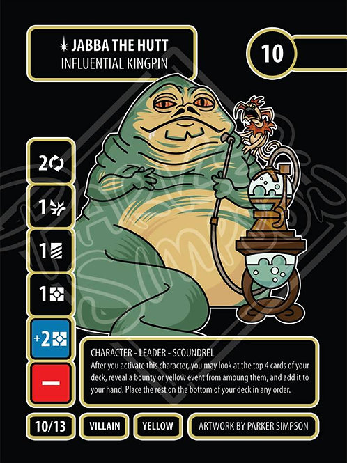 Jabba the Hutt - Influential Kingpin