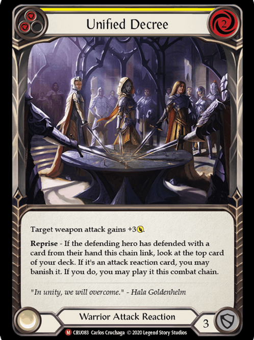 Unified Decree - Foil