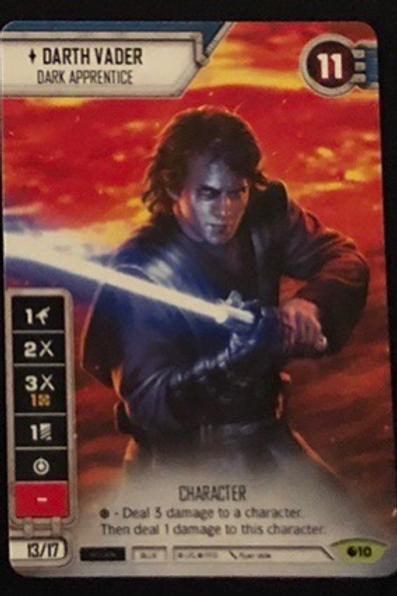 Darth Vader (Anakin) FFG Alt Art Promo