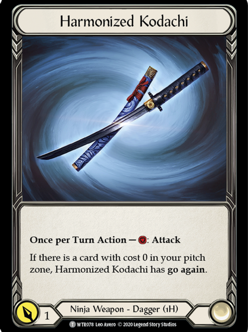 Harmonized Kodachi - WTR Unlimited