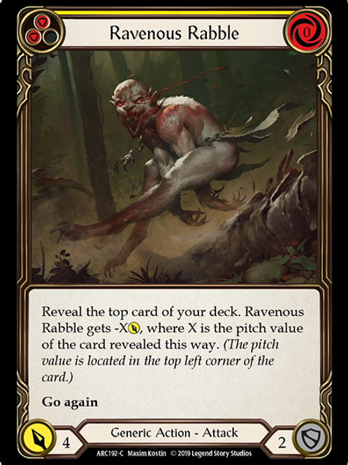 Ravenous Rabble (Yellow)