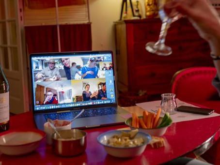 De la terrasse aux skypéros, quand l'alcool s'invite sur les réseaux sociaux