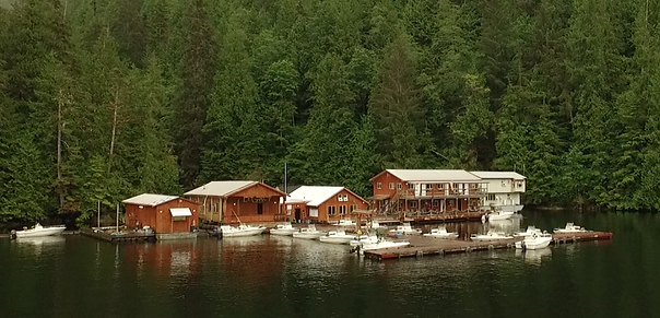 Legacy Lodge in Rivers Inlet BC