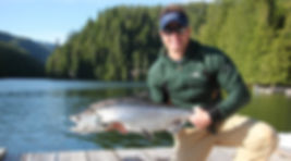 Legacy Lodge salmon on-the-fly