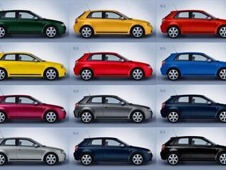 ¿De qué color es tu vehículo? Así afecta la tonalidad en la conducción