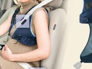 Chaleco cinturón de seguridad para embarazadas