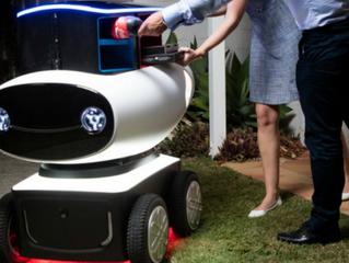 Dru, nuevo robot repartidor de pizzas de Domino's Pizza