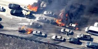 Cómo actuar ante el incendio de un vehículo