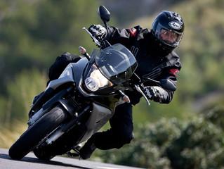 Tramos peligrosos para conducir en moto