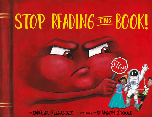 Cover for Stop Reading This Book!