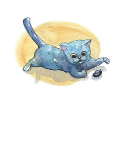 Image from Bulkhead the Ship's Cat, 2016 by Richard Coleman