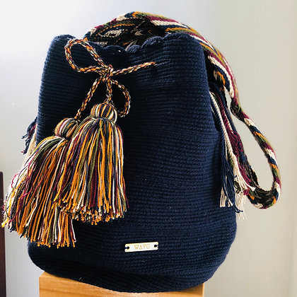 Dark blue Summer bag
