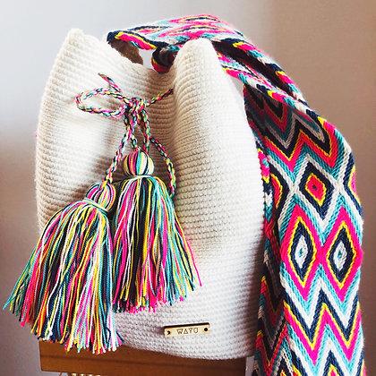 White Summer bag