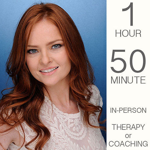 Psychotherapy/Coaching Session - 1 Hr 50 Min