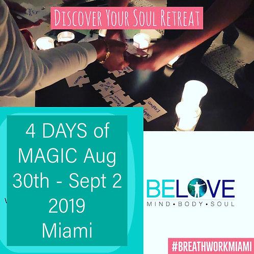 4- Day Labor-Day Weekend  Breathwork Retreat 2019 (MIND-BODY-SPIRIT) 4-days