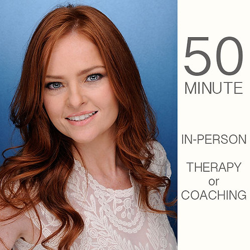 Psychotherapy/Coaching Session - 50 Min