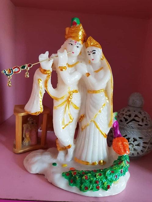 Radium/ Glow in dark beautiful Radha Krishna Statue