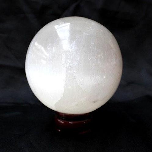 7.2 cm Selenite Sphere