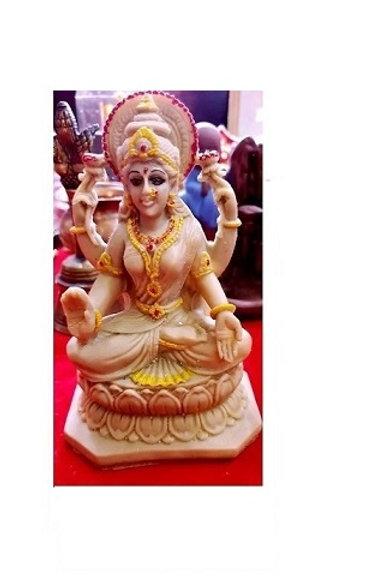 Goddess Maa Lakshmi Idol made of Cow's gaubar and urine  | BeTheButterfly  Shop