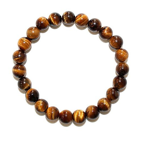 Tiger Eye Bead bracelet/ 8mm and 10mm