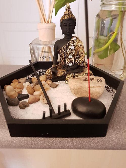 Buddha Zen Garden Incense Holder Kit