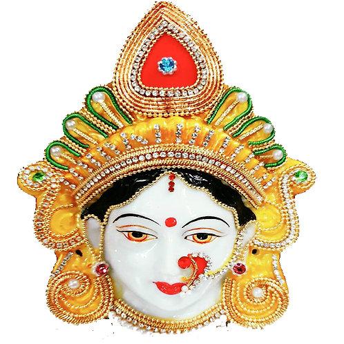 Maha Lakshmi Devi Face! Decorate with high-quality stone!