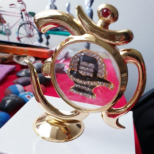 Gold Plated Shiva Showpiece