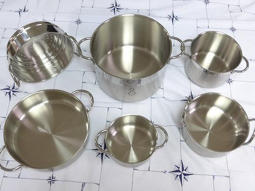 8件式白鐵鍋組