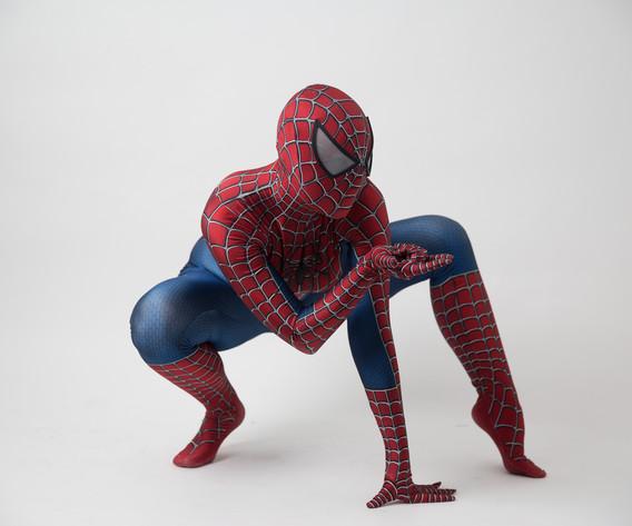 Contrata 1, 2, o hasta 10 superhéroes al mismo tiempo. Vestuarios originales. Todos nuestros actores son profesionales  y cumplen el perfil físico que requiere cada personaje.