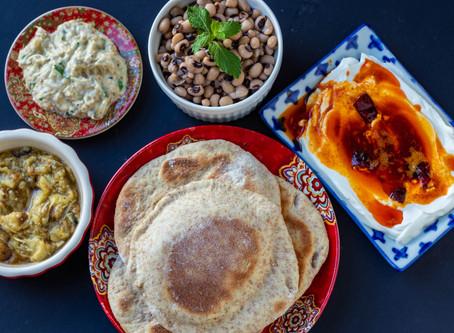 Mediterranean style Mezze Platter