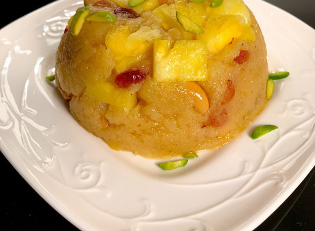 Pineapple Sheera or Halwa
