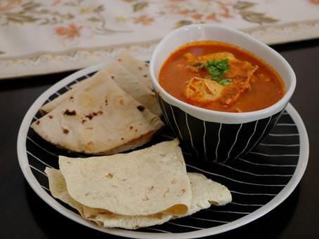 Egg Drop Curry - Malwani style