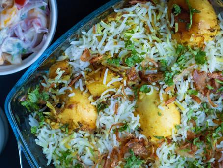 Egg Biryani - Easy & Flavorful