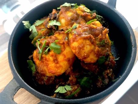 Kolambi Tawa Fry - Prawns fry