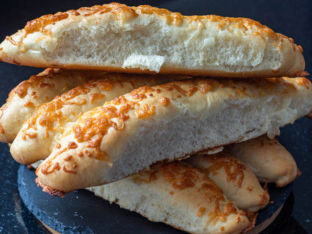 Cheese bread or Cheese Bread Rolls
