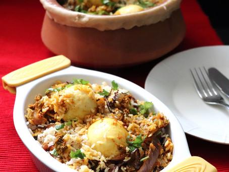 Thalaserry Egg Biryani