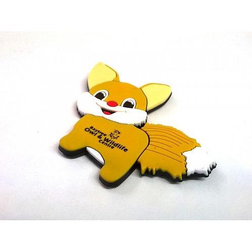 BOWC Flexi Magnet - Fox