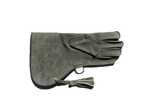 Single Layer Nubuck Leather Falconry Glove
