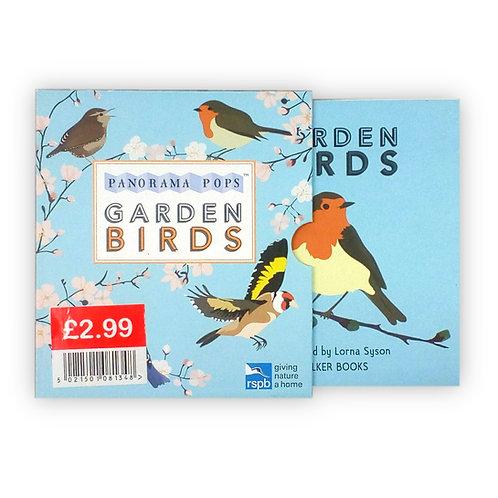 Panorama Pops: Garden Birds