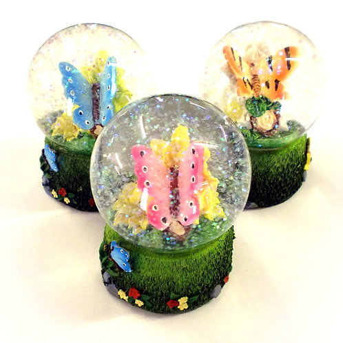 Glitter Globe - Butterfly