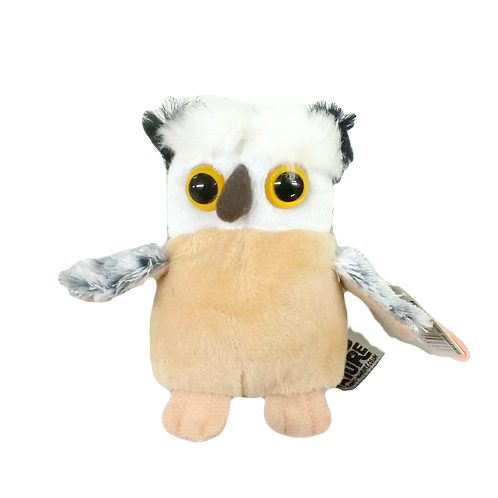 Living Nature Baby Owl Soft Toy 10cm